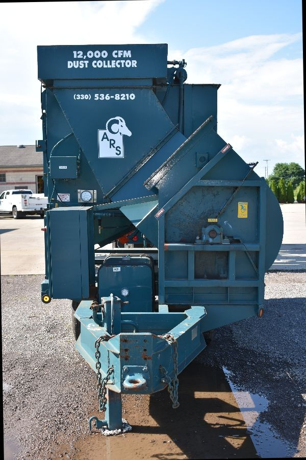 12,000 CFM Mobile Dust Collector
