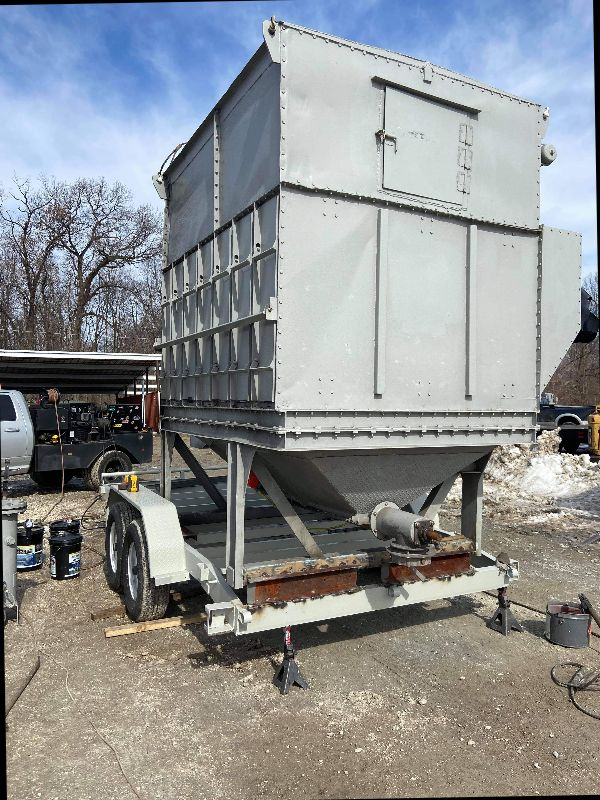 28,000 cfm Ars dust collector