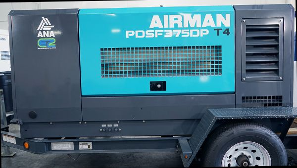 EqoAir 375C Vapor Blasting Trailer