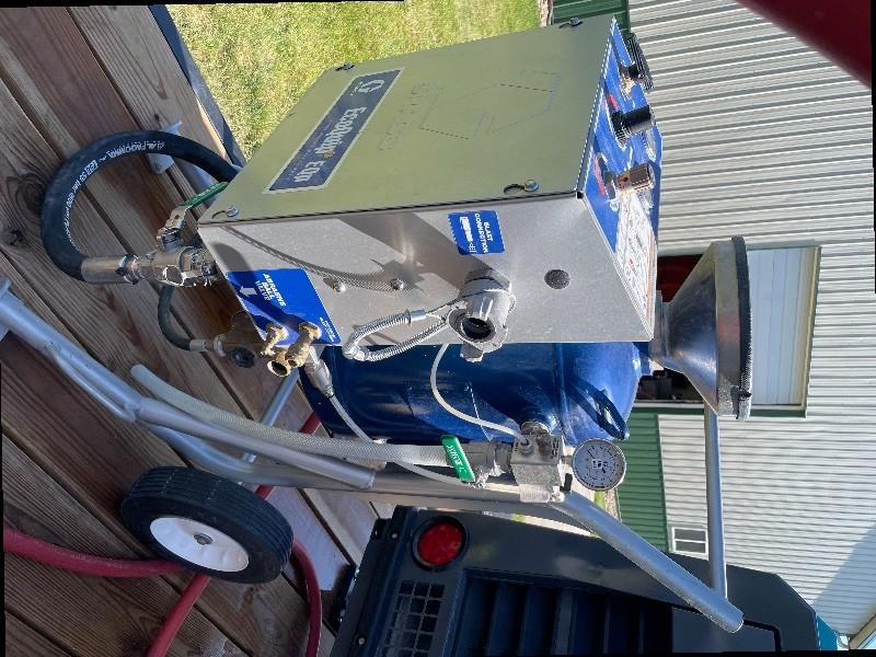 Graco EQ100M & Graco  Ecoquip 2 Vapor Blasters
