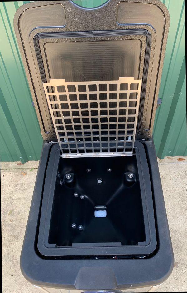 Coldjet Aero 2 PLT 60 Dry Ice Blasting Machine & AfterCooler  With ECO 2W Media Blast Attachment