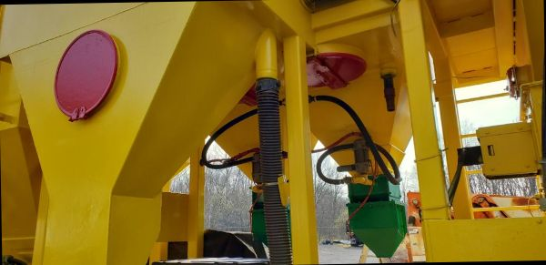 ADI STEEL GRIT BLASTING AND RECYCLING UNIT