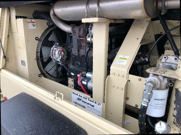 Doosan P260 - Low Hour 260 CFM Portable Diesel Air Compressor