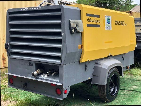 2012 Atlas Copco XAS750 S# HOP080744