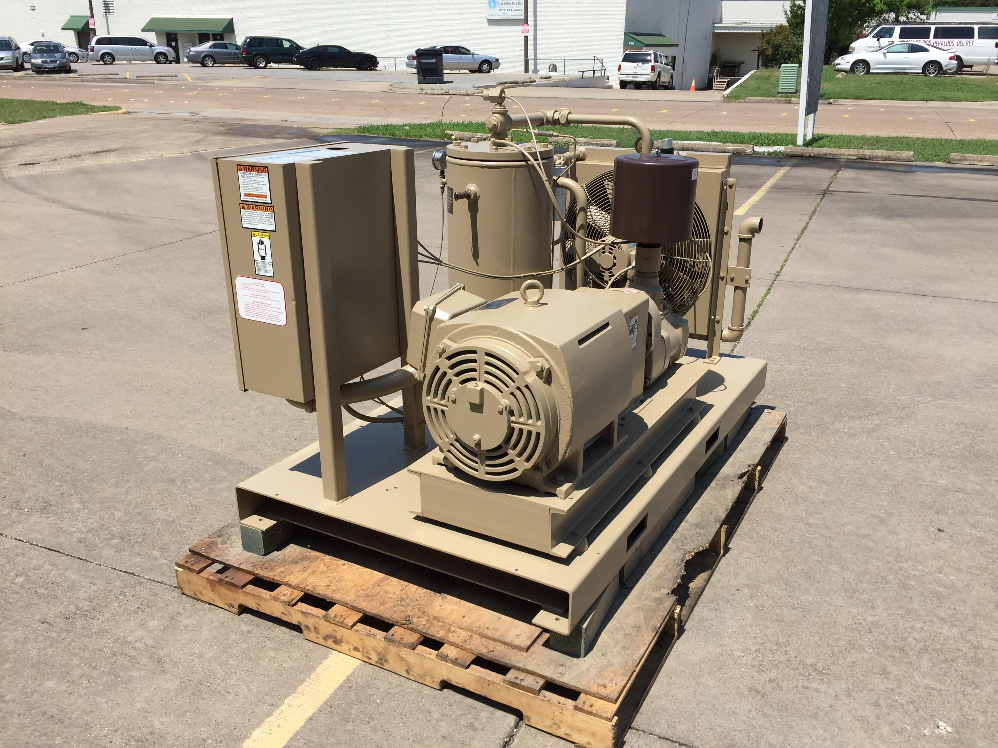 Curtis 50 HP Screw Compressor Unit 1285