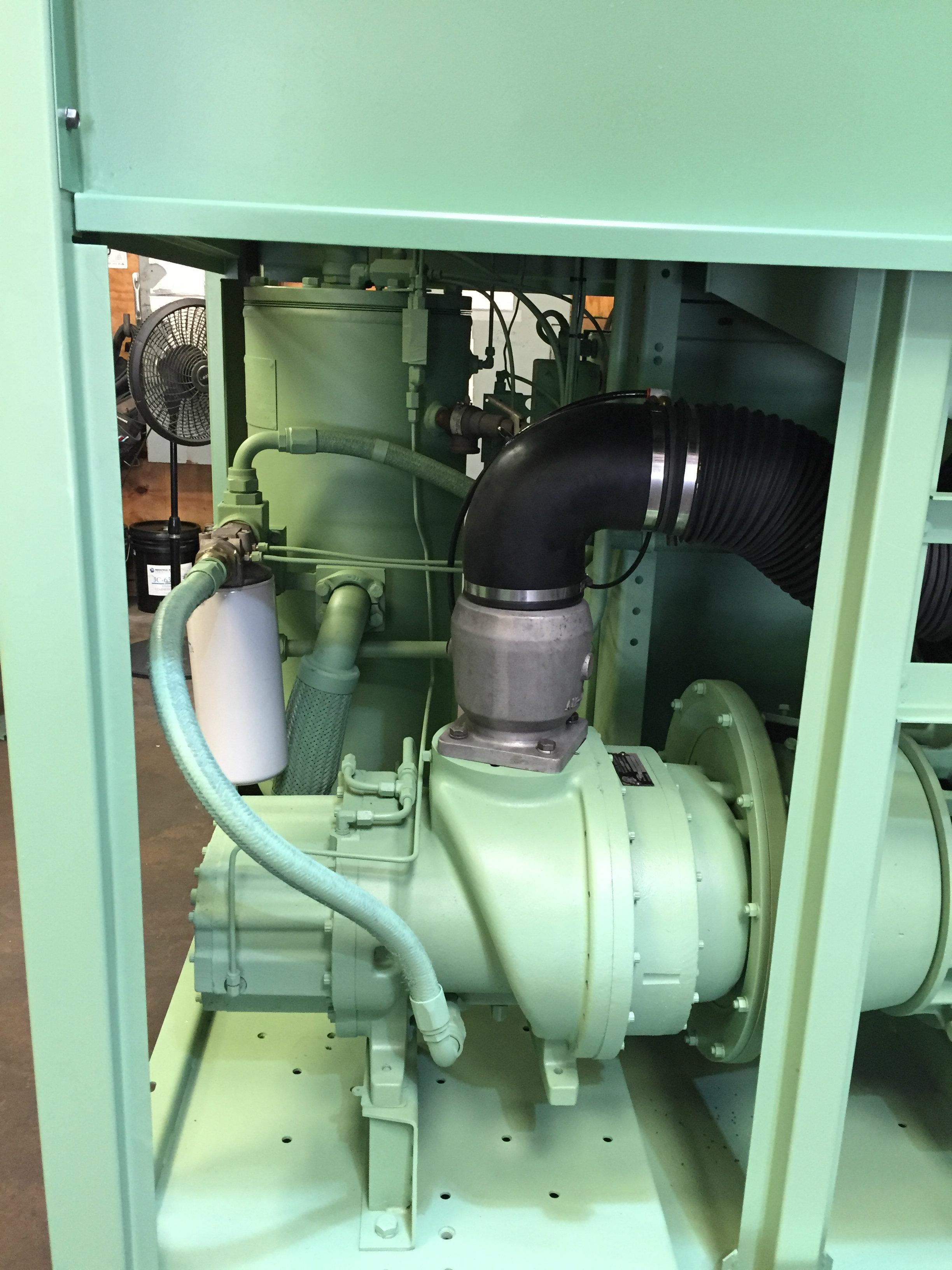 Sullair 75 HP Screw Compressor Unit 1280