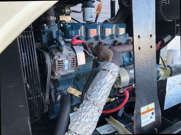 185 CFM Doosan C185 Portable Diesel Air Compressors - 3 x Units