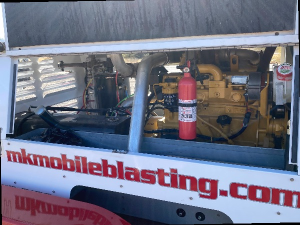 Mobile sand blasting Equipment Package for sale
