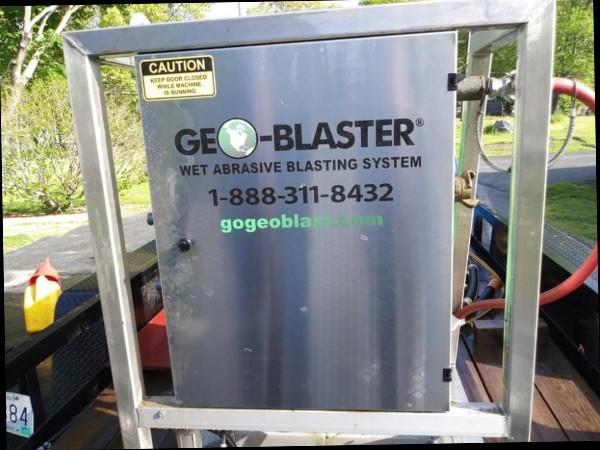 Wet Media GeoBlaster