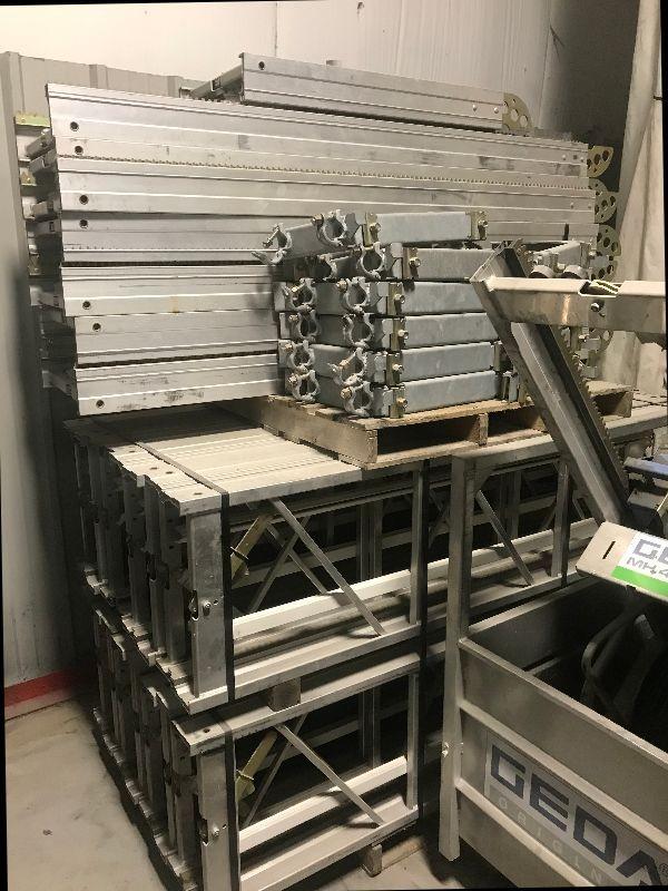 GEDA MH 440 Rack & Pinion Material Hoist