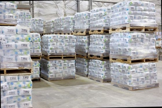 2,000lb Skid of Crushed Bottle Glass  (All Sizes)