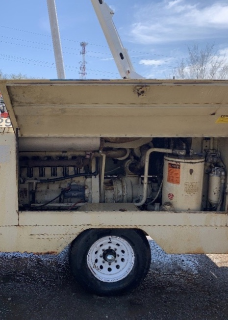Ingersoll Rand 375 Towable Air Compressor