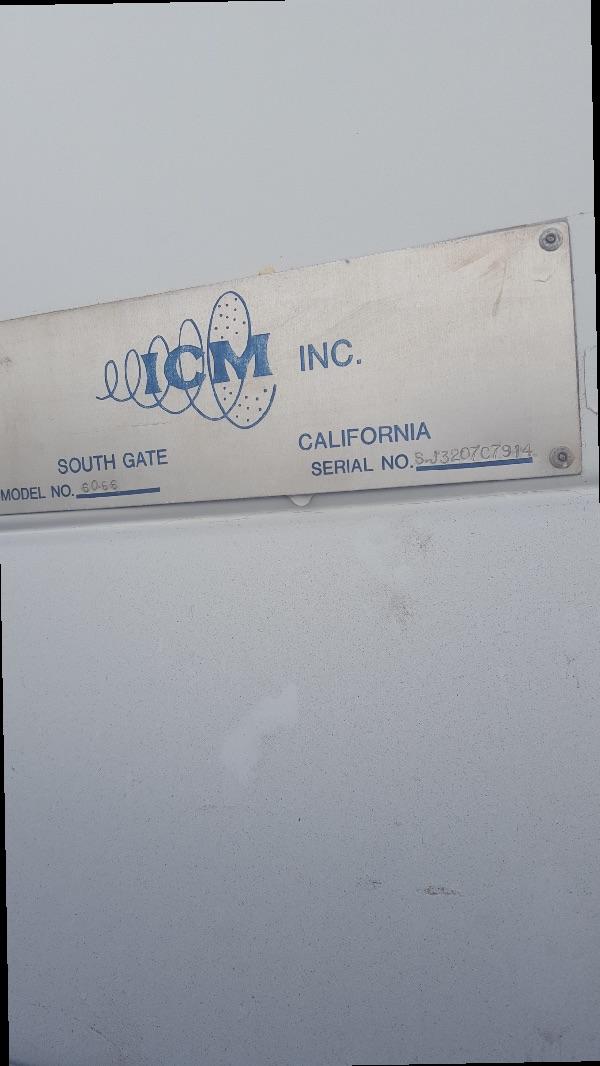 ICM Blast Cabinet