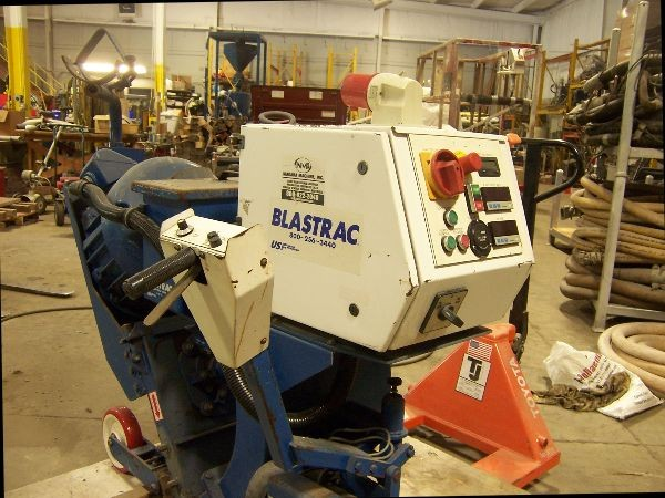 Blastrac 15DSG w/ 6-54 Dust collector