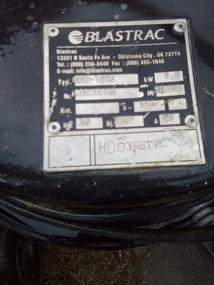 Blastrac BD