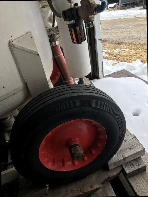 Schmidt 600 lb.blast pot