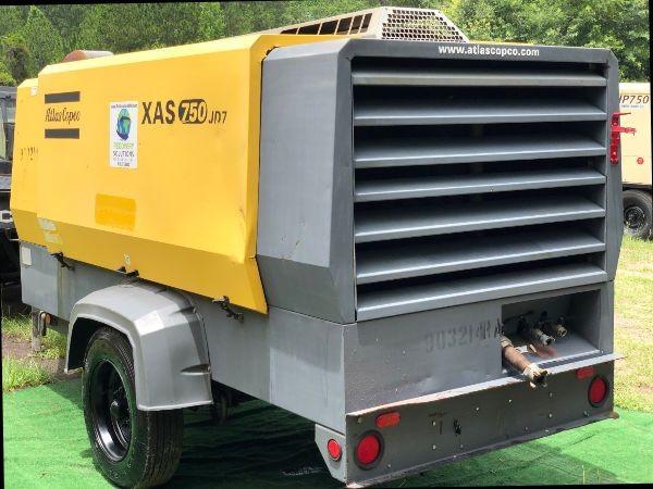 2012 Atlas Copco XAS750 S# HOP080785