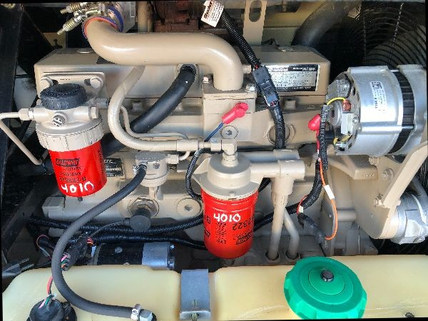 Doosan XP200 - 200 CFM Portable Diesel Tow Behind Air Compressor