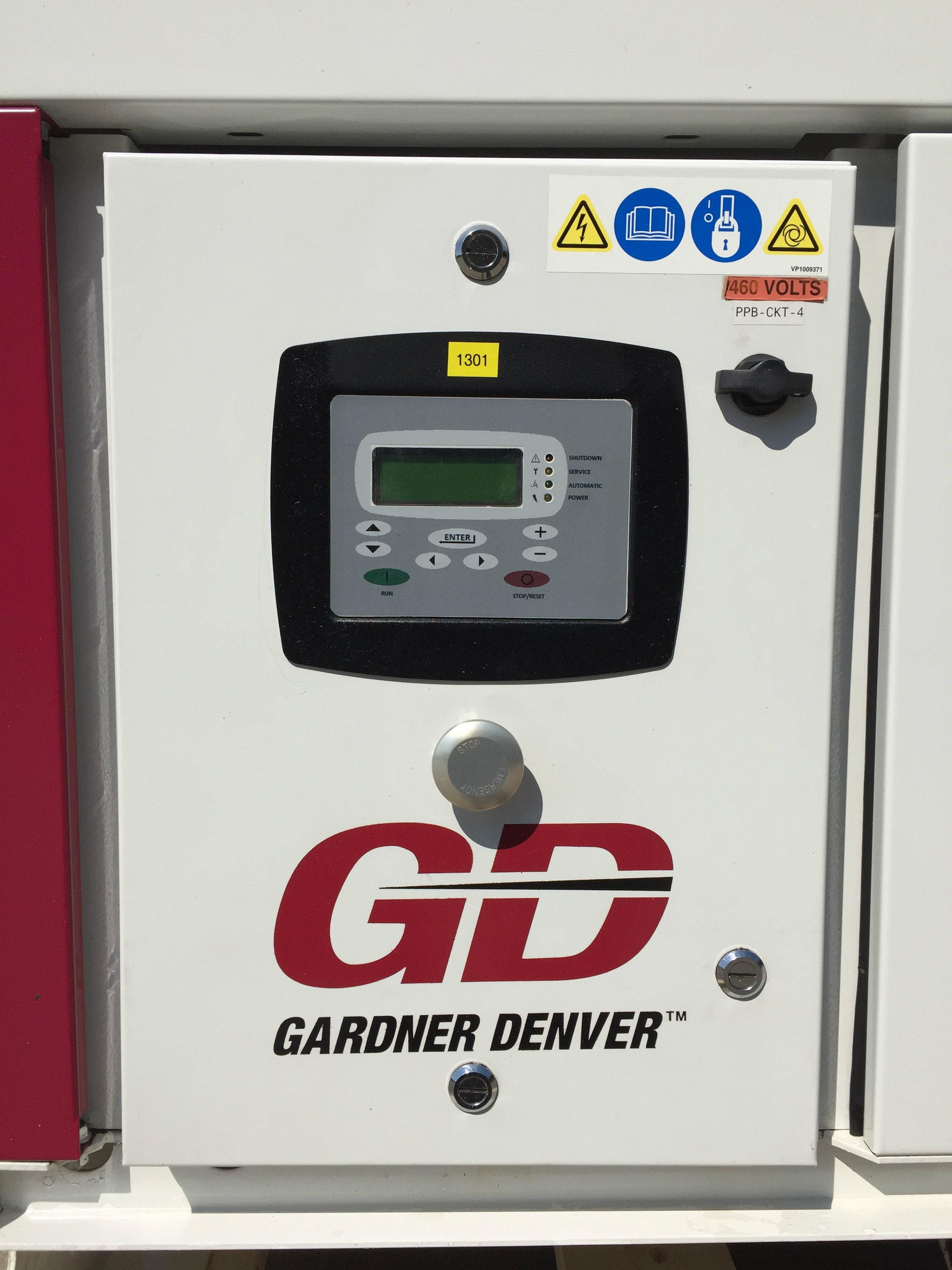Gardner Denver 25 HP Screw Compressor Unit 1301