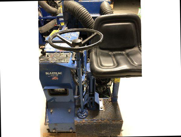 2004 Blastrac GPXP 10-18LP Portable Propane Ride On Shot Blaster