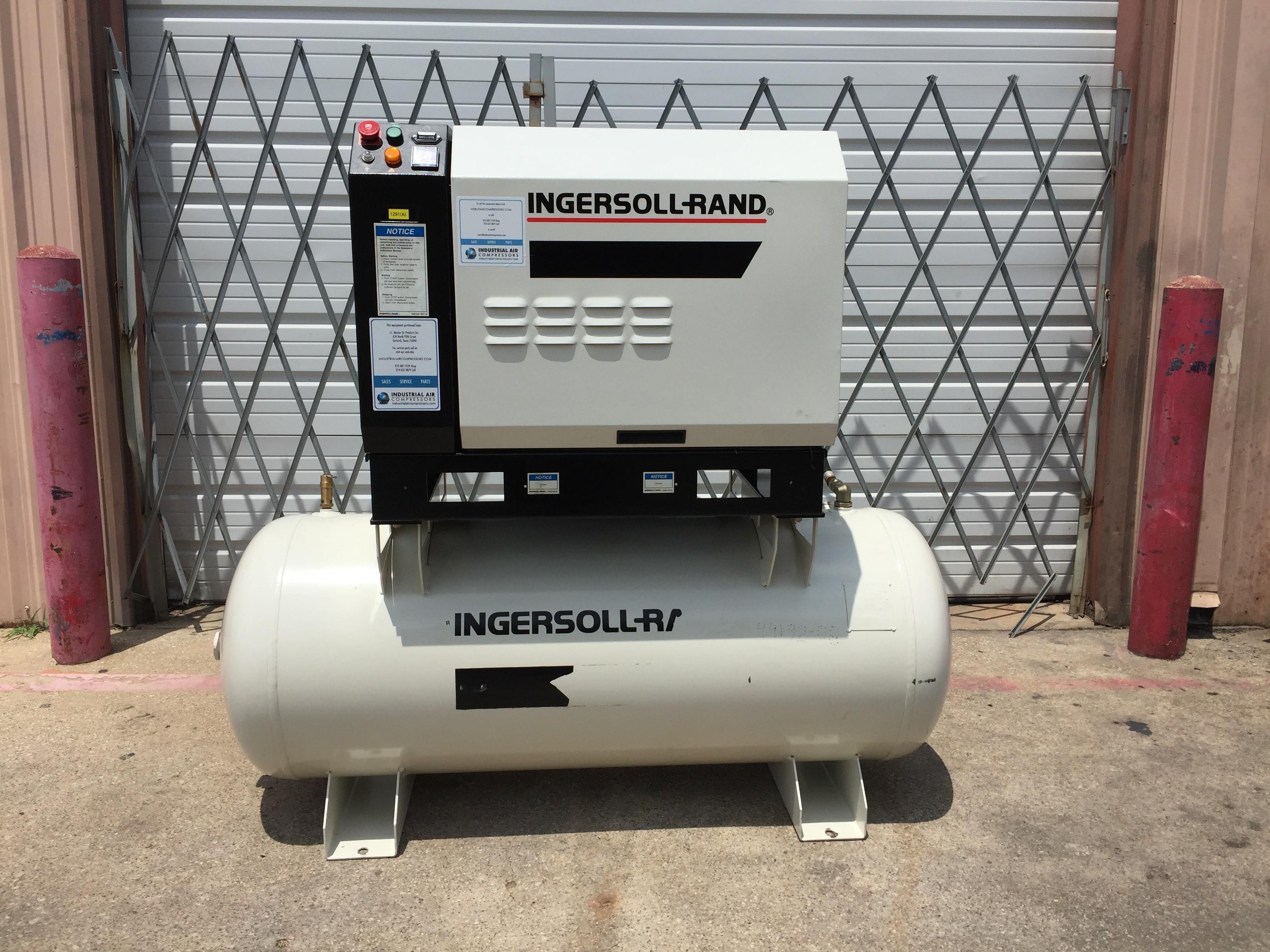 Ingersoll Rand 15 HP Screw Compressor Unit 1291(A)