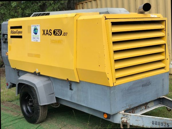 2011 Atlas Copco XAS750 S# HOP080679