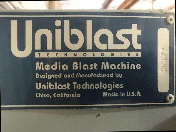 Uniblast Media Blast Machine