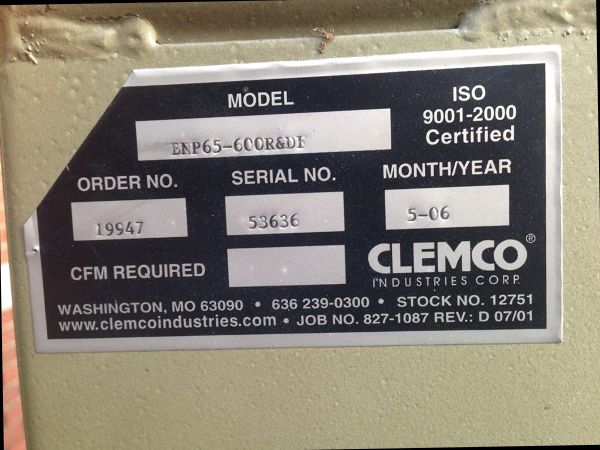 Clemco Blast Cabinet