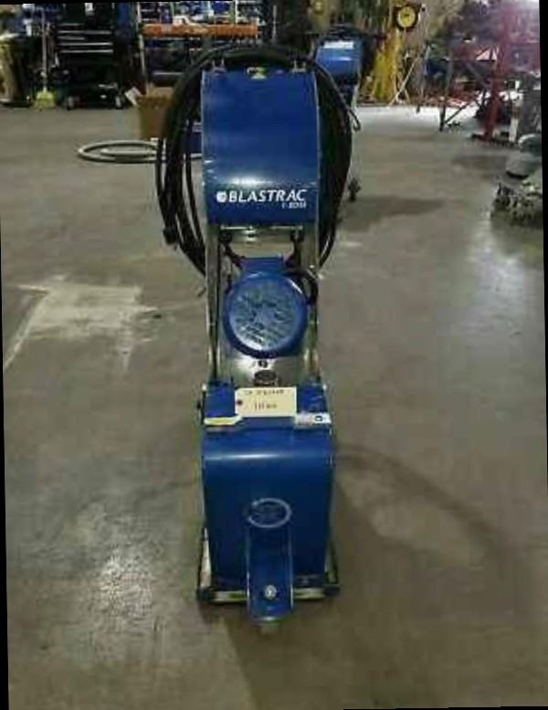 Blastrac  Bead Blaster