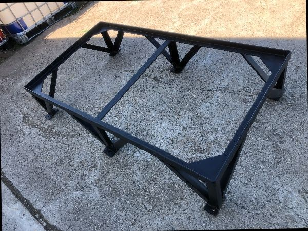 TRAILER MOUNTING STAND for a SULLAIR 185 CFM 185DPQ-JD S/A DIESEL AIR COMPRESSOR