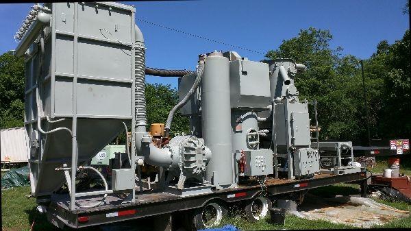 Ipec steel grit recycler