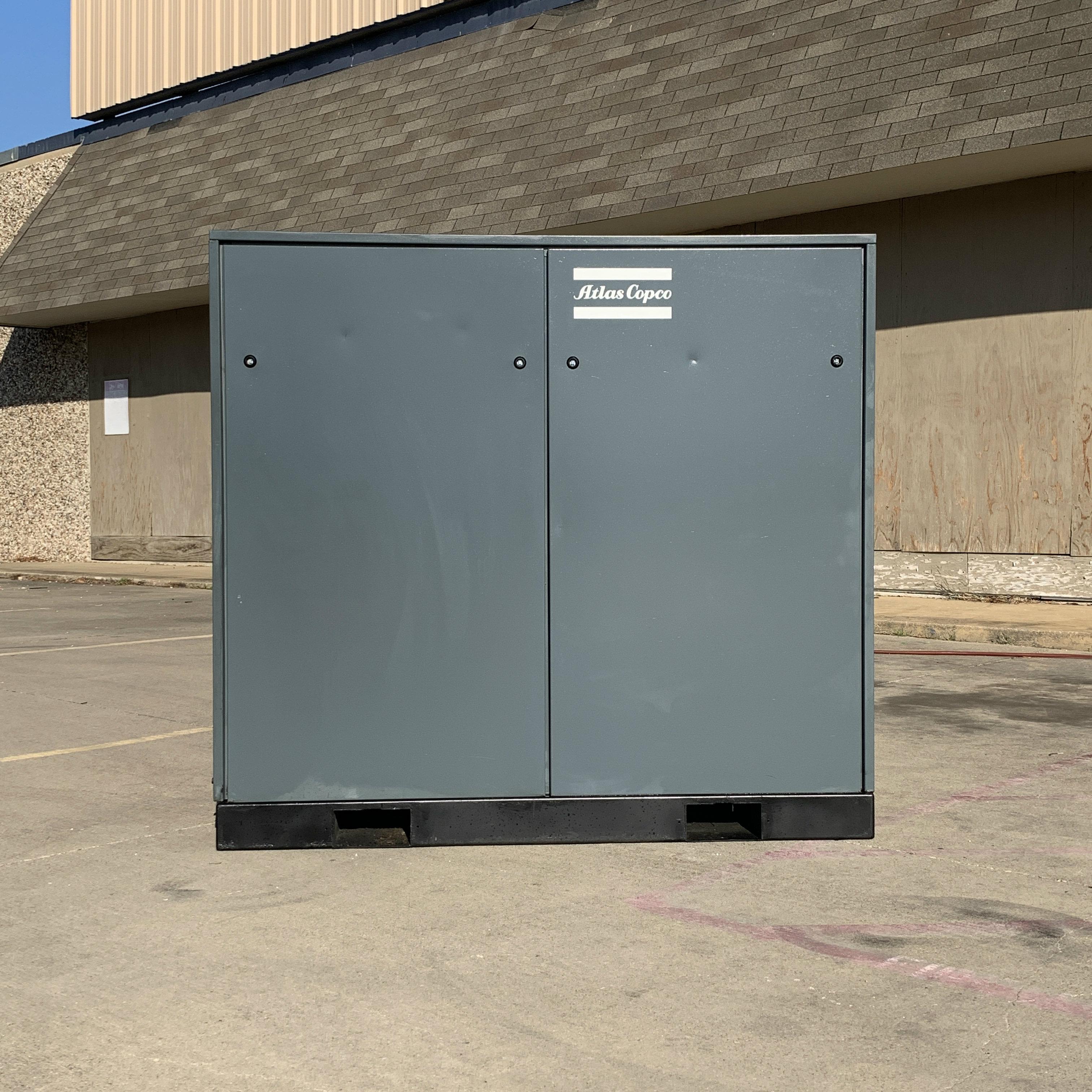 Atlas Copco 50 HP Screw Compressor Unit 1316